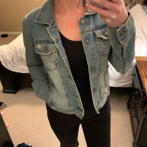 Cute jean jacket!